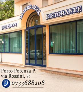Ristorante Pesce Albergo 3 Stelle Porto Potenza Riviera Conero